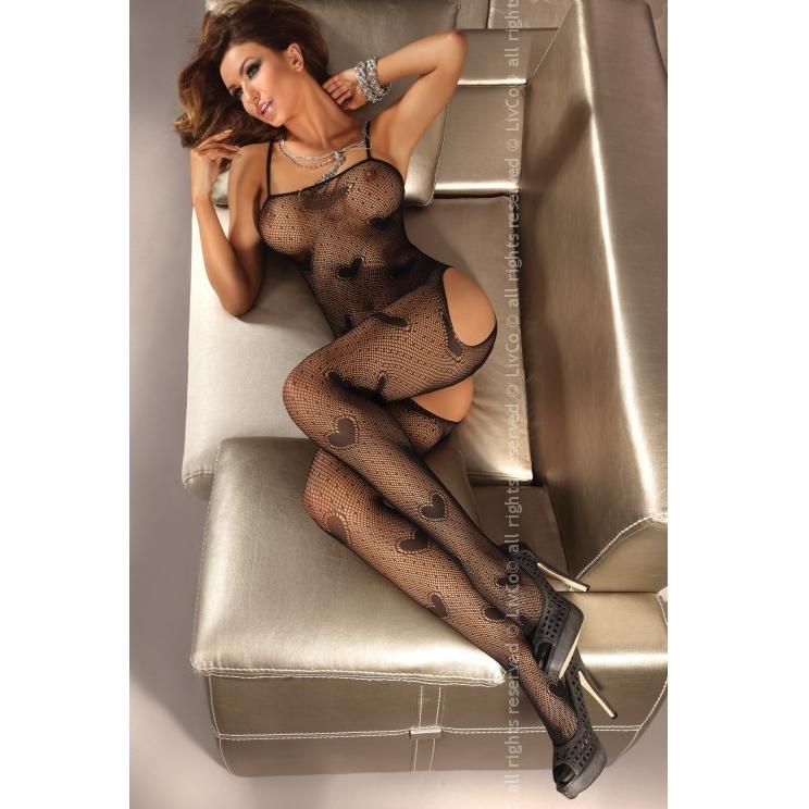 Titania catsuit negro livco