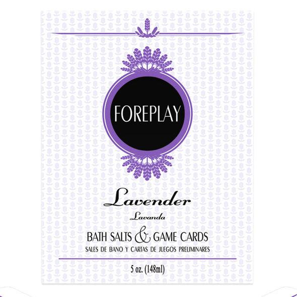 Foreplay sales de baño y cartas de juegos es/en