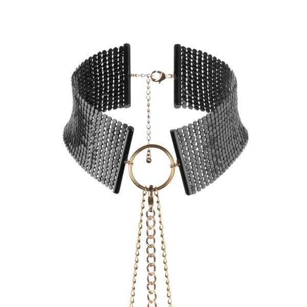 Désir métallique collar metálico negro