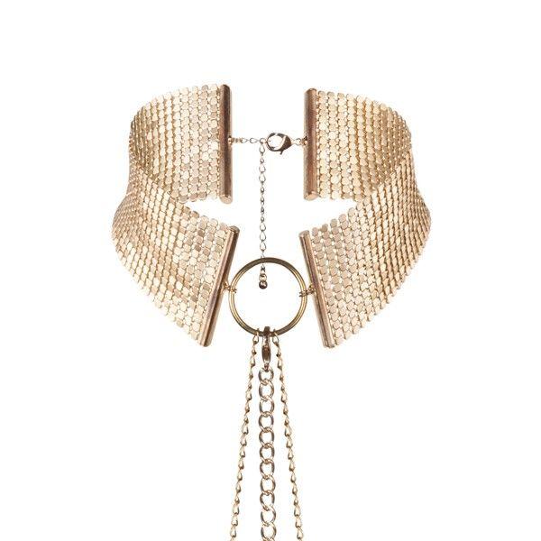 Désir métallique collar metálico dorado