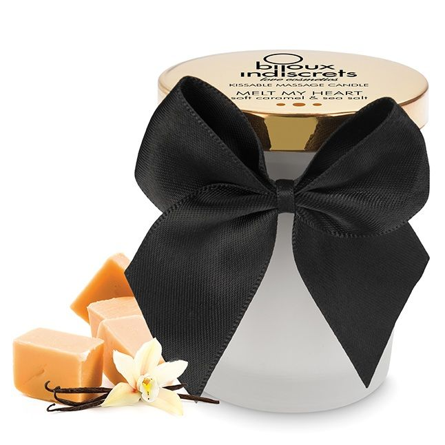 Bijoux vela masaje aroma a caramelo salado