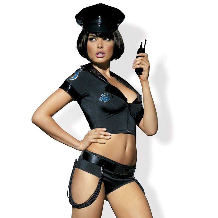 Obsessive disfraz police set s/m