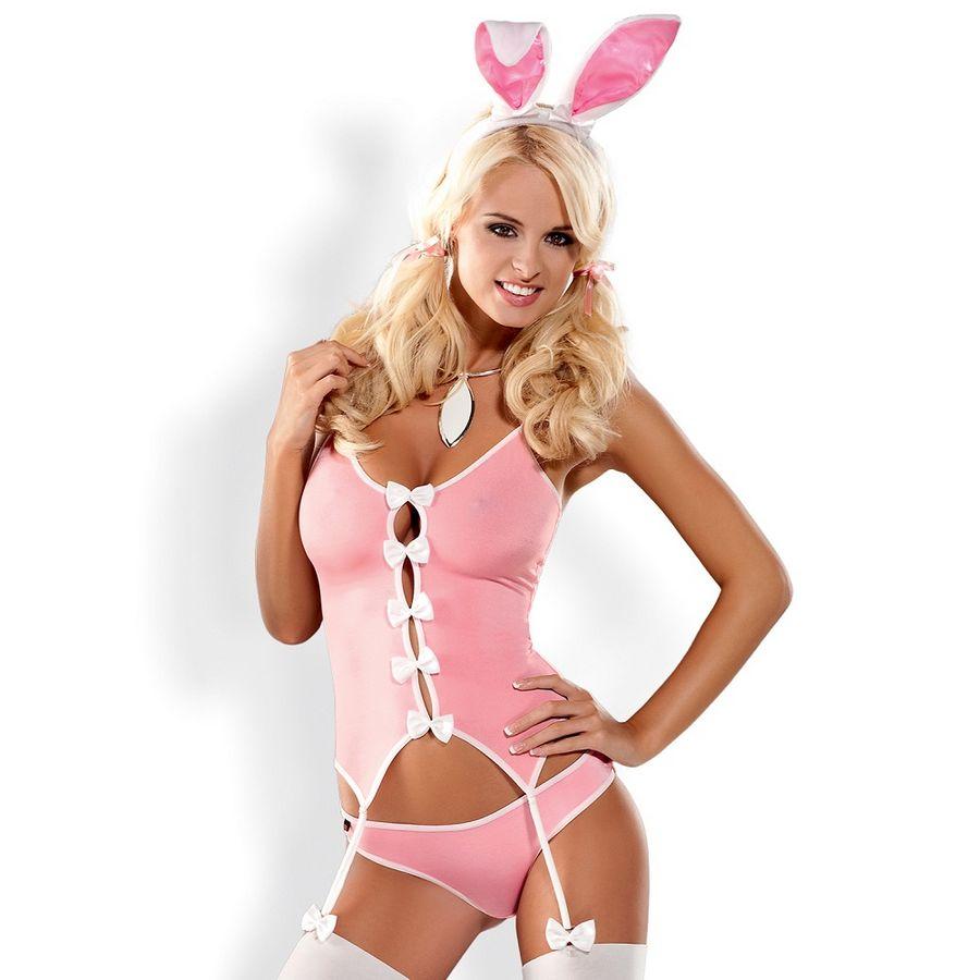 Obsessive disfraz conejita bunny suit  l/xl