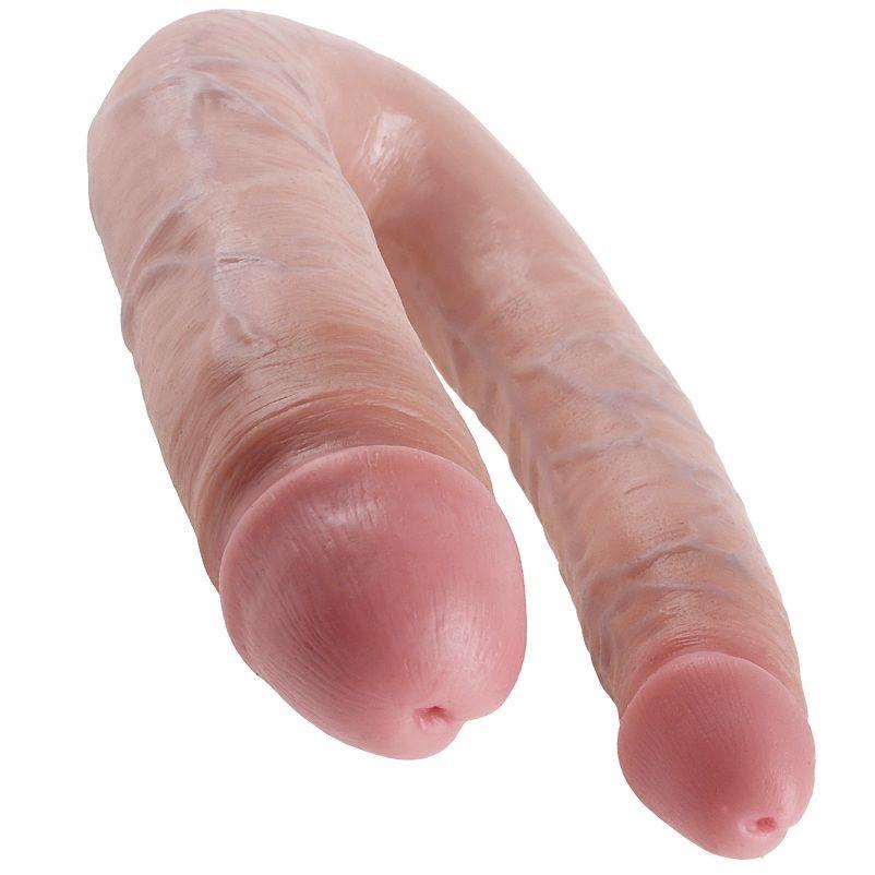 King cock dildo doble penetración 17