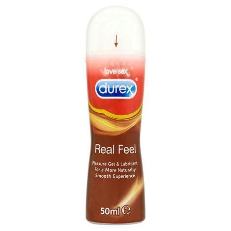 Durex real feel pleasure gel intimo 50ml