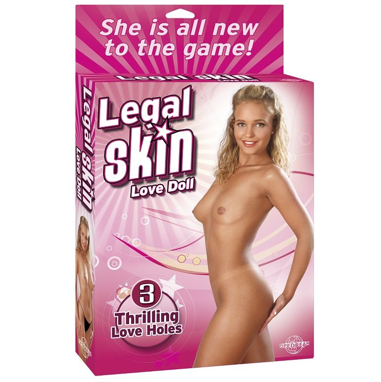 Legal skin love muñeca hinchable