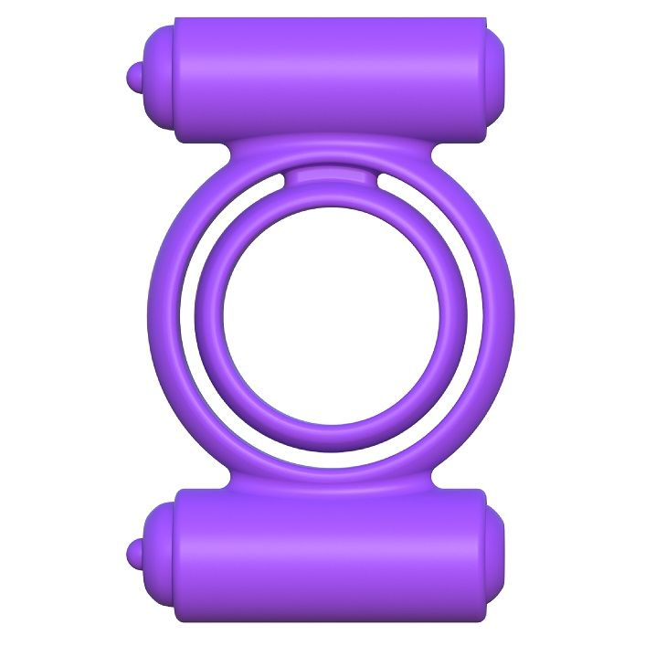 Fantasy c-ringz silicone doble vibrador delight