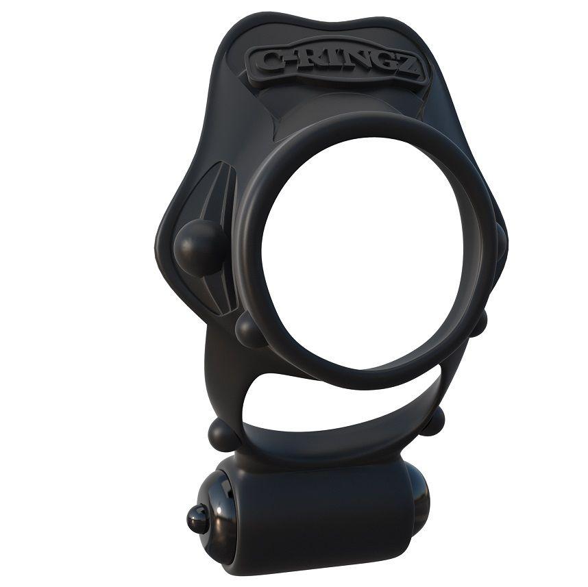 Fantasy c-ringz rock hard anillo vibrador doble