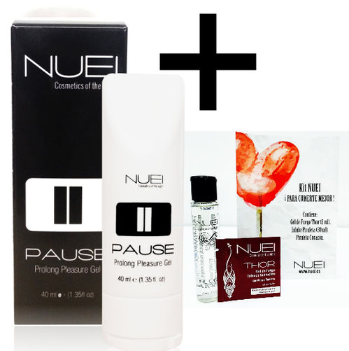 NUEI GEL RETARDANTE PAUSE 40 ML + KIT NUEI GRATIS