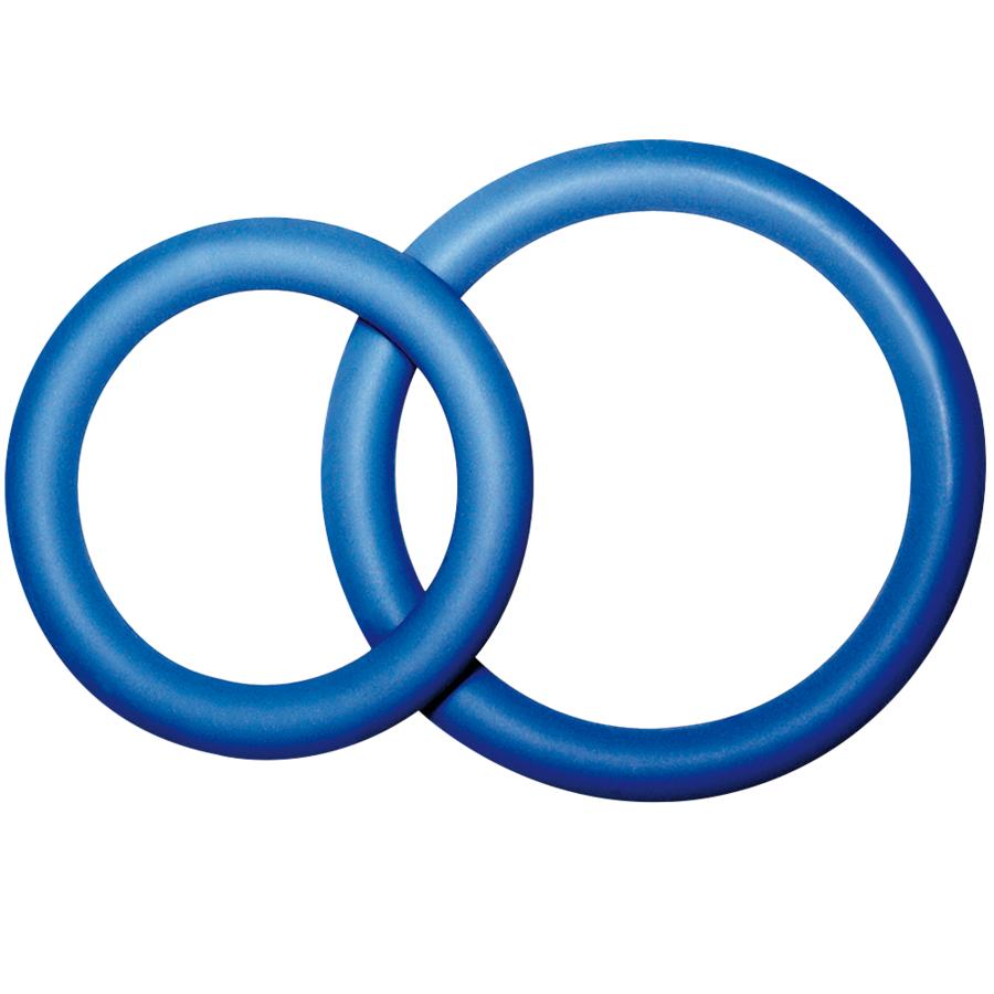 Potenz duo azul anillos pene pequeño ( size s)