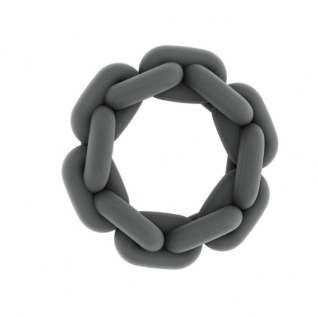 Sono anillo silicona gris 2