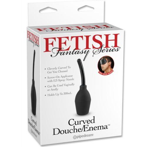 FETISH FANTASY SERIES CURVED DOUCHE/ENEMA - International Dreamlove S.L.
