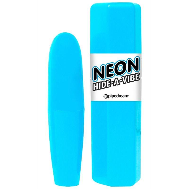 Neon con funda transporte azul