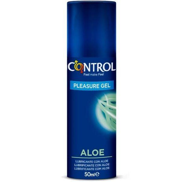 CONTROL PLEASURE GEL ALOE LUBRICANTE 50 ML