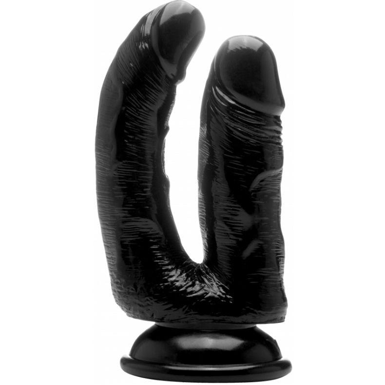 Real rock doble penetracion negro / anal 12 cm  vaginal 10 cm