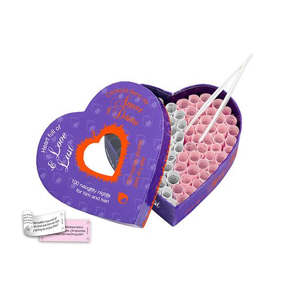 HEART FULL OF LOVE & LUST & CORAZON LLENO DE AMOR & DESEO (EN-ES)