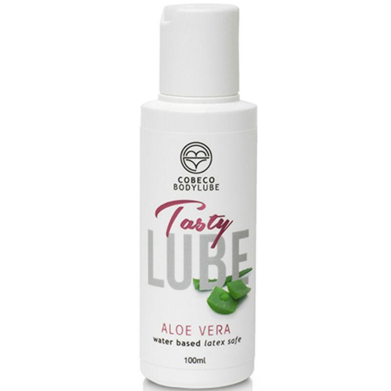 Lubricante tasty lube con aloe vera 100 ml
