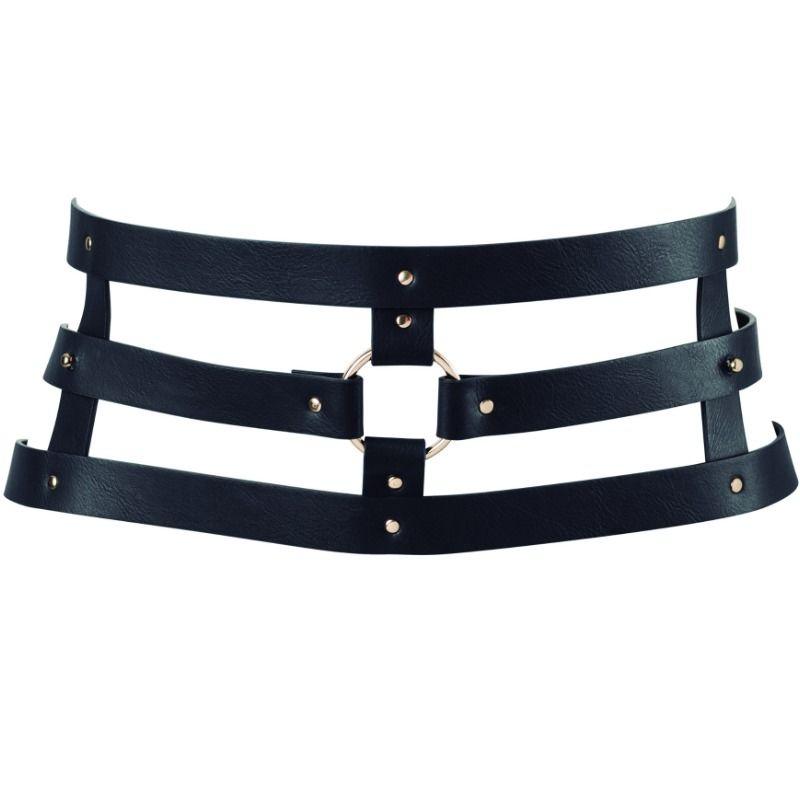 Bijoux indiscrets maze cinturon con correa - negro