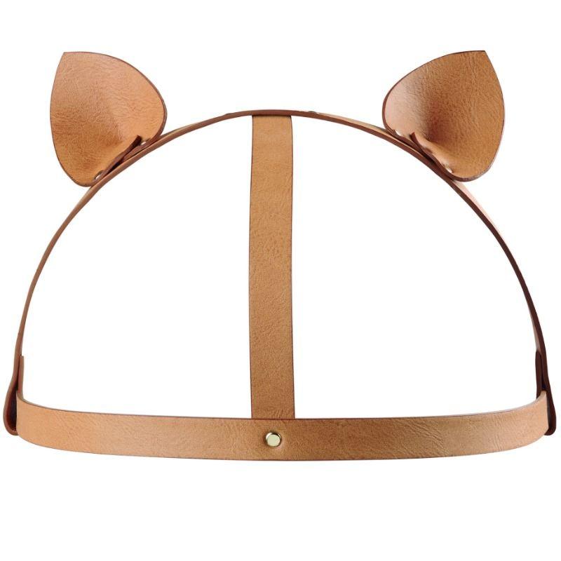 Bijoux indiscrets maze accesorio con orejas de gato marron