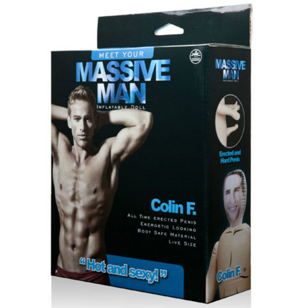 Massive man muñeco hinchable colin f