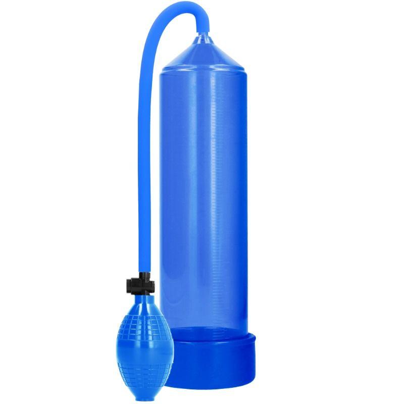 Pumped - bomba de ereccion classic - azul