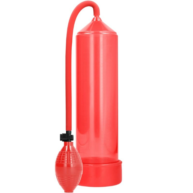 Pumped - bomba de ereccion classic - rojo
