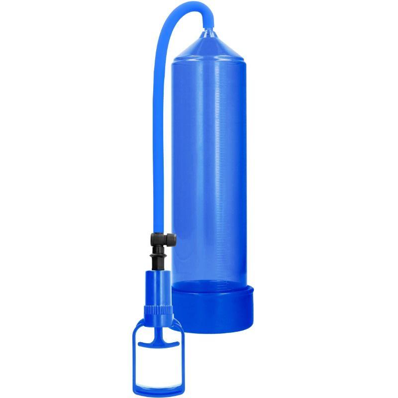 Pumped - bomba ereccion principiantes comfort beginner pump - azul