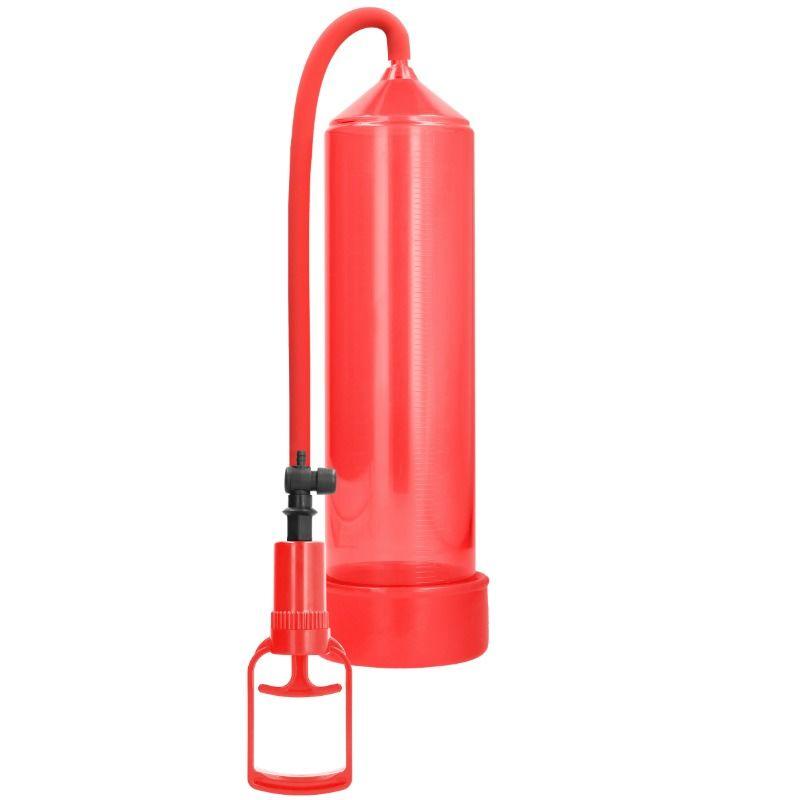 Pumped - bomba ereccion principiantes comfort beginner pump - rojo