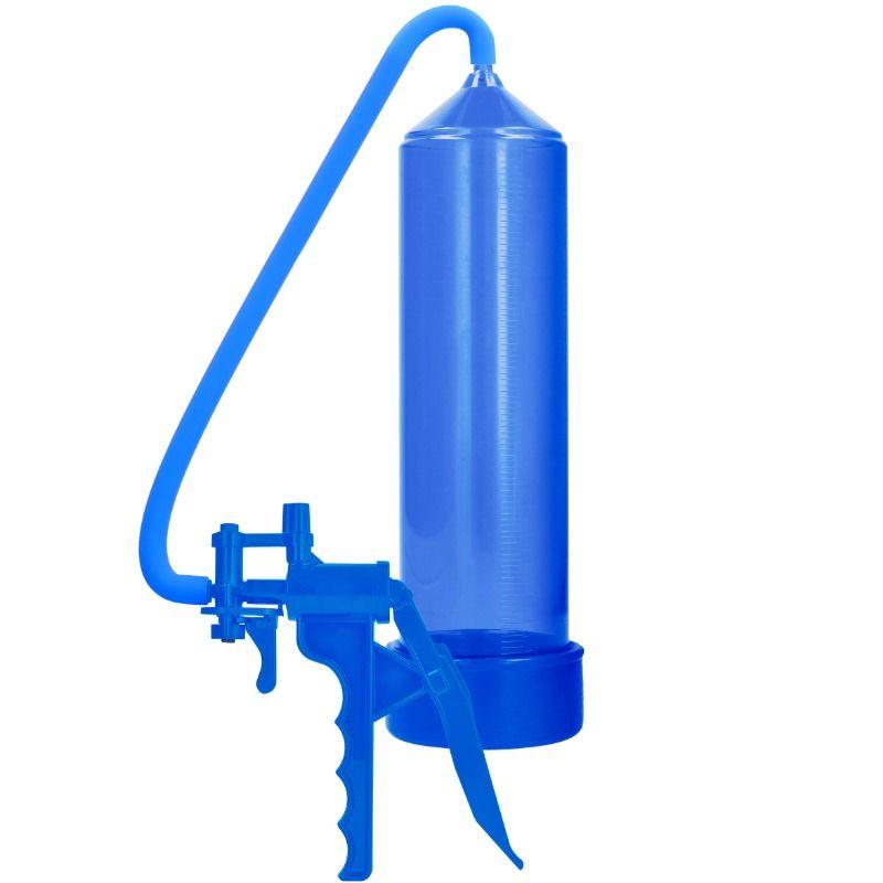 Pumped - bomba de ereccion de elite para principiantes - azul
