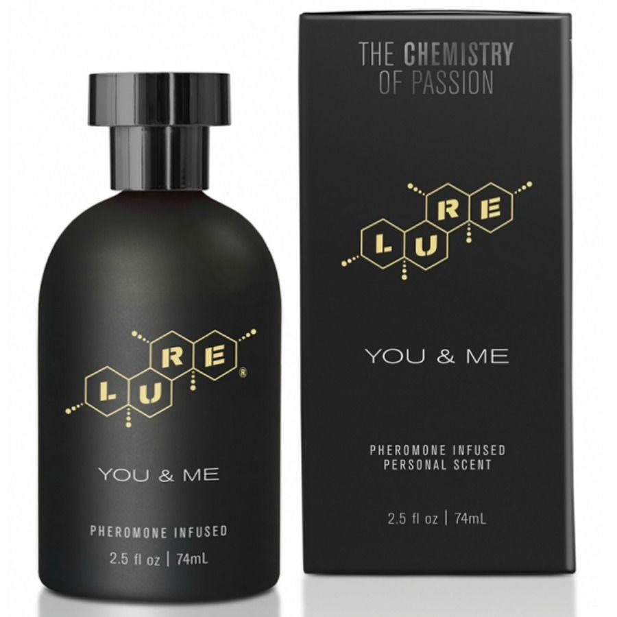 Lure black edition perfume feromonas unisex 74ml