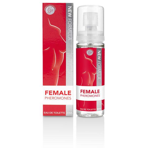 Perfume con feromonas para mujer