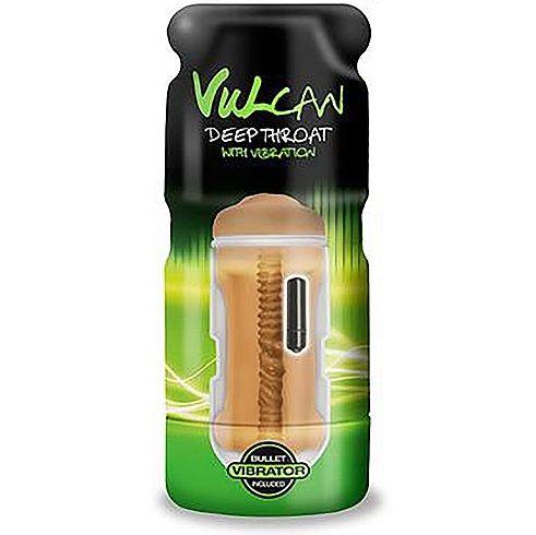 Masturbador vulcan con vibración - boca moca