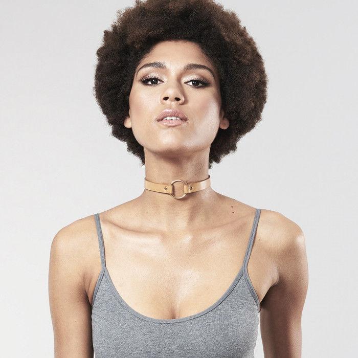Bijoux indiscrets maze collar choker marrón