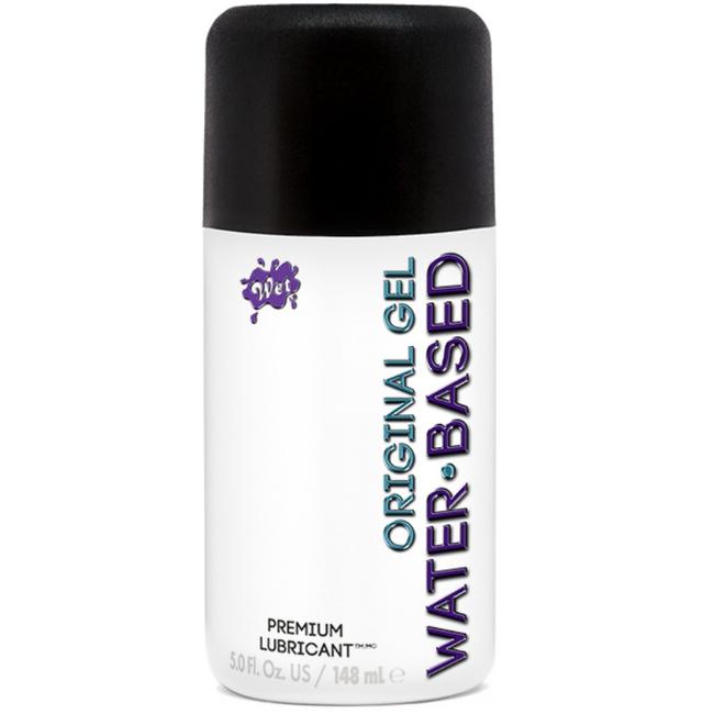 Wet original lubricante base agua ligero 148 ml
