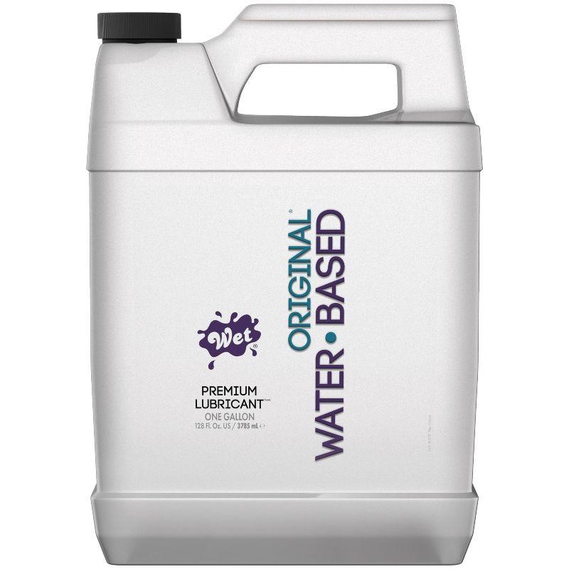 Wet original lubricante base de agua 3785 ml