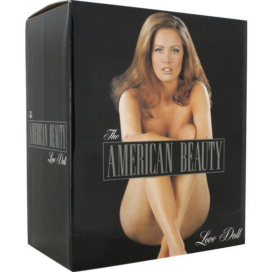 Sevencreations  muñeca hinchable americana con vibrador