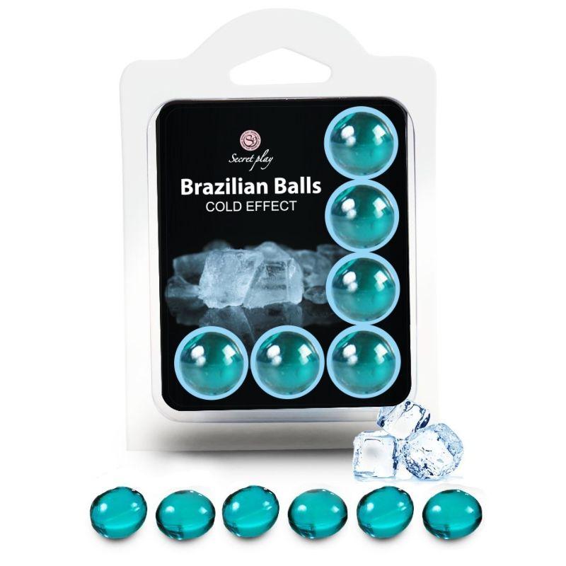 SECRETPLAY SET 6 BRAZILIAN BALLS EFECTO FRIO