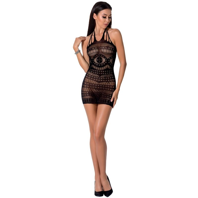 PASSION WOMAN BS063 VESTIDO NEGRO TALLA UNICA