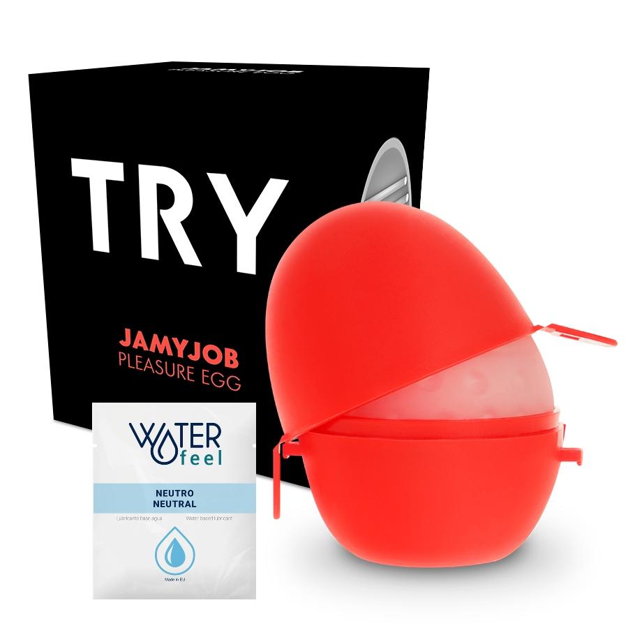 Jamyjob huevo masturbador discreto version black try