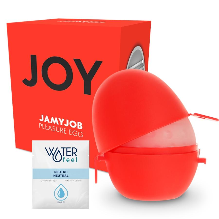Jamyjob huevo masturbador discreto version rojo joy