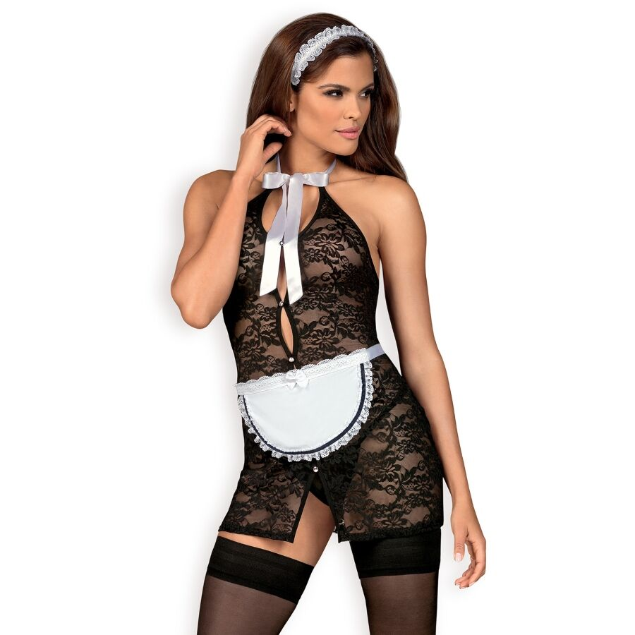 Obsessive - servgirl disfraz asistenta l/xl