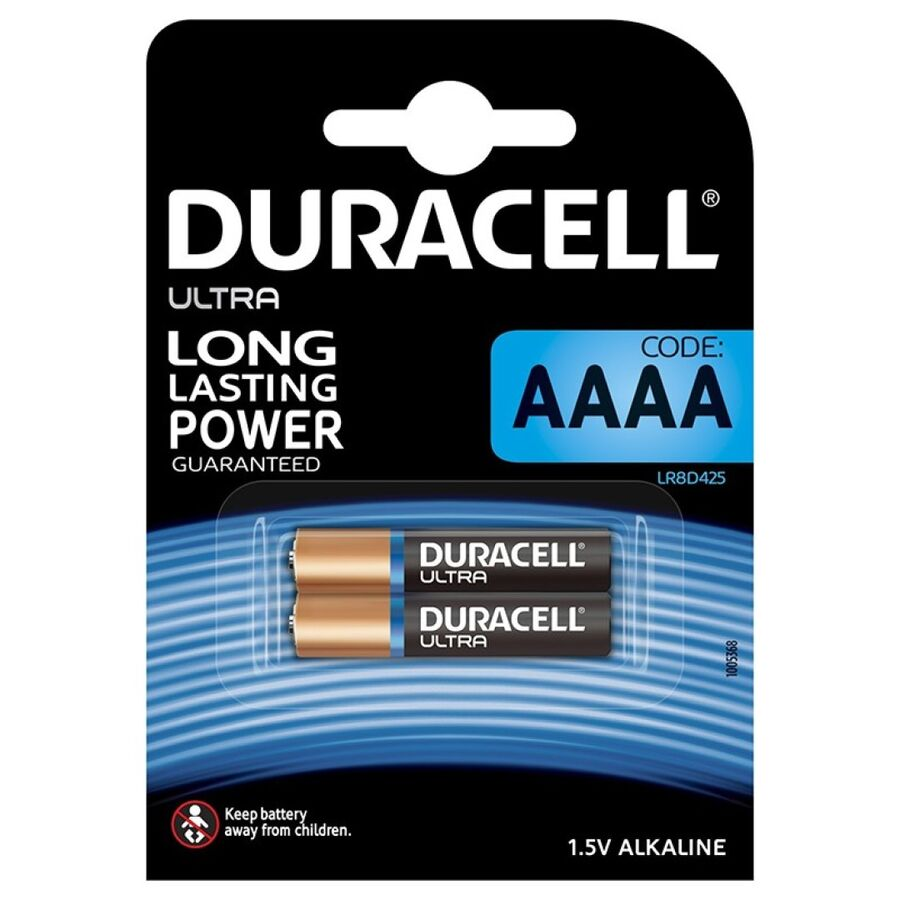 DURACELL ULTRA POWER PILA ALCALINA AAAA MX2500 1,5V BLISTER*2