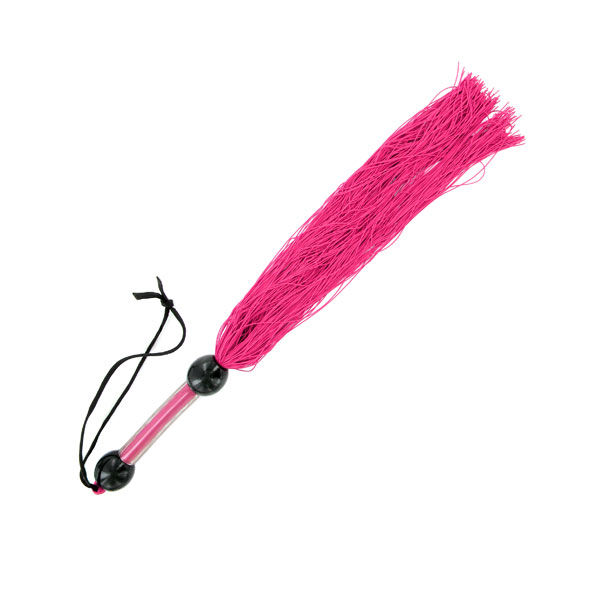 Sex mischief fusta medium whip pink  35cm