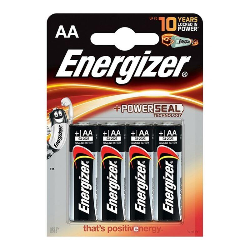 ENERGIZER ALKALINE POWER PILA ALCALINA AA LR6 BLISTER*4