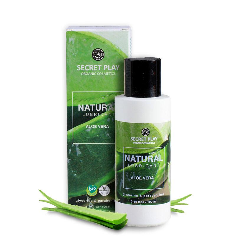 Secretplay lubricante organico natural 100ml