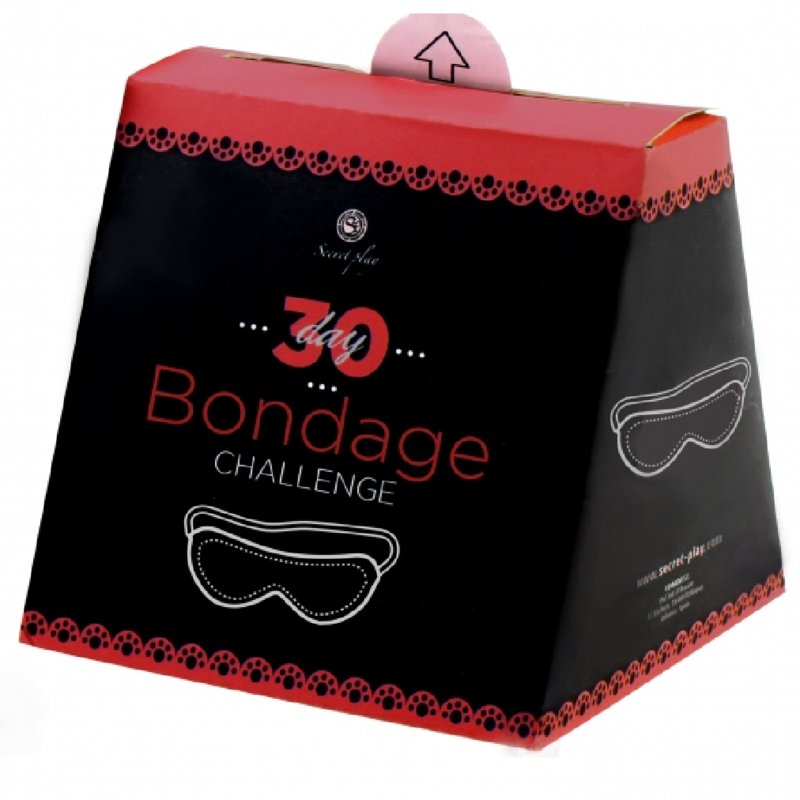 Secretplay reto 30 dias de bondage (fr/pt)